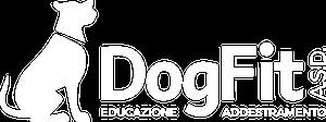 logo dogfit bianco